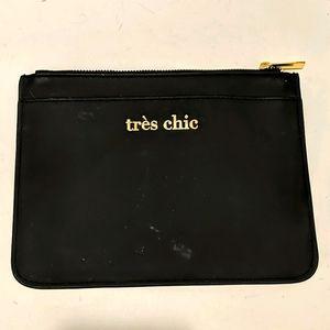 Black Make-up Bag / Pencil Case